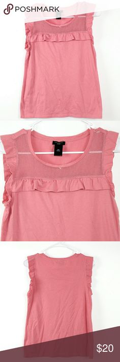Ann Taylor Baby Doll Bib Top EUC Only used once!  Perfect condition  No rips/Stains   *Offers are welcome!  *No Trade  *5% off any 2 or more items automatically applies at checkout   Thank you very much! Ann Taylor Tops