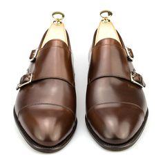 double monk stap shoes