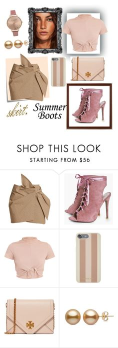"""sexy skirt. 😍"" by aura-helena ❤ liked on Polyvore featuring Post-It, Étoile Isabel Marant, Boohoo, Michael Kors, Tory Burch and Olivia Burton"