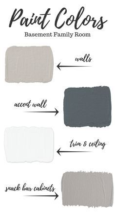 It& time to pick basement paint colors now that the renovation drywall stage is complete. See what we chose to create a warm and welcoming family room! Source by misterlemon The post Basement Paint Colors appeared first on May Design School. Basement Makeover, Basement Renovations, Home Remodeling, Basement Ideas, Rustic Basement, Modern Basement, Basement Storage, Dark Basement, Basement Inspiration
