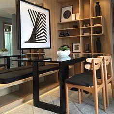 WEBSTA @ sheilacjesus - Ambientes pequenos com charme e sofisticação!!!#inspiracao2016 #sheilajesusinteriores #decoracao #saladejantarpequena #designdeinteriores #projetosdeinteriores #curitiba #consultoriadedecoracao