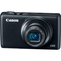 Amazon.com: Canon PowerShot S95 10 MP Digital Camera with 3.8x Wide Angle Optical Image Stabilized Zoom and 3.0-Inch LCD: Camera & Photo