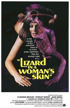 Italy:  A Lizard in a Woman's Skin (1971)