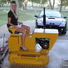 Forum for Welding Professionals and Enthusiasts To Interact and Learn – Free - Lawn Mower Farmall Tractors, Old Tractors, Porsche 356, Small Garden Tractor, Homemade Tractor, Crawler Tractor, Pin Up, Engin, Chenille
