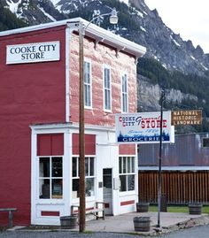 Cool Small Town Cooke City Montana