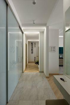 Tágas, modern, elegáns lakás, inspiráló részletekkel