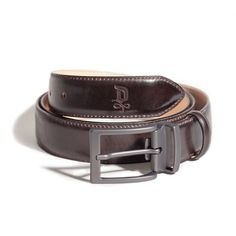 Burnet/Dark Pewter Belt   DONUM Men's Footwear & Accessories
