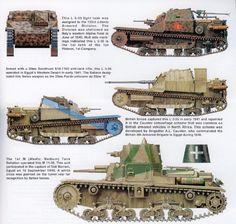 Italian tanks and AFVs.