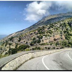La Strada Provinciale che da #Sapri porta a #Maratea