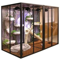 These enormous custom Hybrid reptile cages and enclosures are our most popular Hybrid reptile cage specials! Plenty of room for multiple reptiles in our cages. Lizard Cage, Snake Cages, Bearded Dragon Habitat, Bearded Dragon Cage, Bearded Dragon Terrarium, Reptile Habitat, Reptile Room, Animal Room, Large Reptile Cages