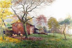 Autumn Mists by JEF DUTILLEUX - Cider House Galleries