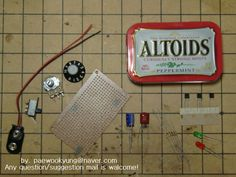 Picture of How to make a portable handy lie detector in Altoid tin