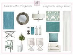 Home-Styling | Ana Antunes: Homestyling advice in Turquoise *** Consulta de Homestyling em Azul Turquesa!