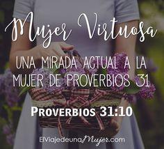 Mujer virtuosa - Joya rara y preciosa | El viaje de una mujer
