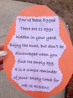 Cute Idea for Easter Fun
