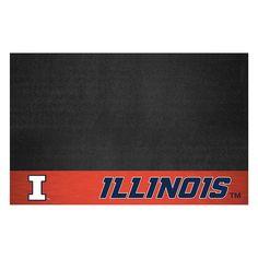 Illinois Fighting Illini NCAA Vinyl Grill Mat