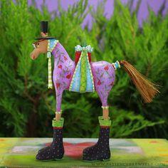 Marcel Horse Ornament