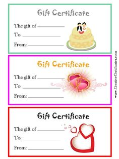Free Printable And Editable Gift Certificate Templates Printables - Anniversary gift certificate template