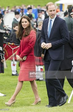 Catherine, Duchess of Cambridge and Prince William, Duke of Cambridge visit the Strathearn Community Campus on May 29, 2014 in Crieff, Scotland