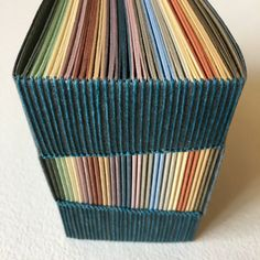 Buttonhole Stitch Journal - Carla Sonheim Presents Handmade Notebook, Handmade Journals, Handmade Books, Handmade Rugs, Handmade Crafts, Bookbinding Tutorial, Bookbinding Ideas, Book Journal, Journal Covers