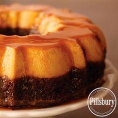 Chocolate Flan Cake from Pillsbury® Baking