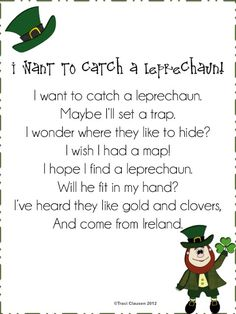 Teaching Blog Addict: 26 St. Patrick's Day Primary Printables {Free}