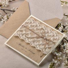 Wedding Invitations  #4lovepolkadots.com