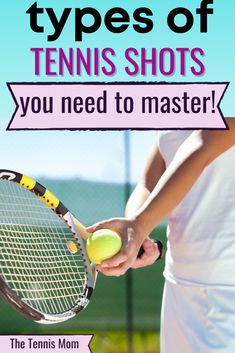 At tennis practice, you need to make sure to take time to practice these tennis shots.  Using tennis drills or match play to master these tennis shots. Nike Tennis, Play Tennis, Tennis Grips, Tennis Lessons, Tennis Match, Cloud Strife, Tennis Players, Tennis Racket