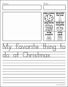 Writing Journal Prompts December. My favorite thing to do at Christmas
