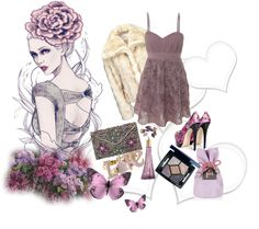 """butterflies"" by isabelsousa93 ❤ liked on Polyvore"