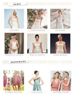 Searching for bridal gowns? Visit The Collection at Dress For The Wedding for a listing of favorite bridal designers.