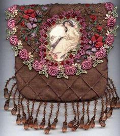 Bronze purse