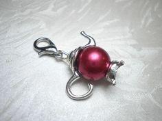 Bettelarmbänder - Charm Anhänger 'Teekanne' - ein Designerstück von ElkesDesign bei DaWanda