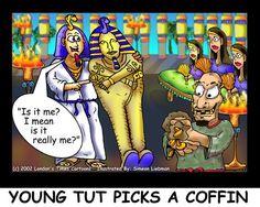 #KingTut Choosen Tomb by @LTCartoons #mortuary #funerals #egypt #humor #KingTut #funny #sales #marketing #coffins #coffinsales #comic #cartoon #offbeatcartoons #LTCartoons #ricklondonpic.twitter.com/SMDv0FbeZn