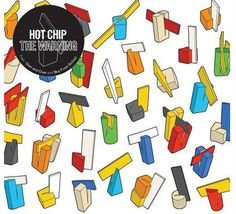 Showcase of Beautiful Album and CD covers- Hot Chip - The Warning