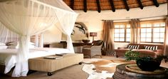 Motswari Game Lodge in the Timbavati Game Reserve Safari Bedroom, Game Lodge, Private Games, Game Reserve, Dream Apartment, Hotels And Resorts, Lodges, South Africa, Interior Design