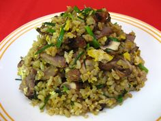New York Steak Fried Rice (牛排炒飯, Ngau4 Paai4 Caau2 Faan6)