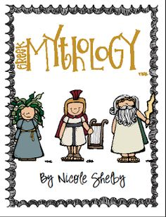 Teaching with Blonde Ambition: Greek Mythology Fun