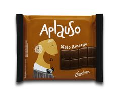 Chocolate Aplauso by Vini Marques, via Behance
