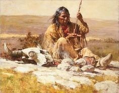 Native Americans are subjects for artists Howard Terpning, James Bama, Bev Doolittle, John Buxton and others. Native American Paintings, Native American Wisdom, Native American Artists, Indian Paintings, Native American Indians, Native Americans, Plains Indians, Native Indian, Native Art