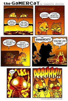 the GaMERCaT :: Hot in Here | Tapastic Comics - image 1
