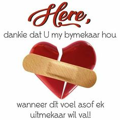 Afrikaans Quotes, Inspirational Quotes, Words, Blessings, Journaling, Lisa, Hearts, Bible, Sayings