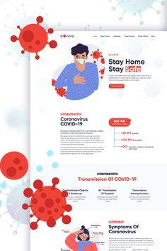 Corona - Coronavirus Medical Prevention & Informatics PSD Template prevention who Corona - Coronavirus Medical Prevention & Informatics PSD Template Web Design Software, Modern Website, Application Design, Medical Illustration, Photoshop Photos, Wordpress Template, Psd Templates, Infographic, Ads