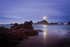 Richard Franco- La Corbiere Lighthouse, Jersey