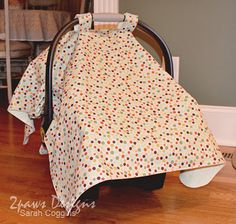 car seat cover/tent