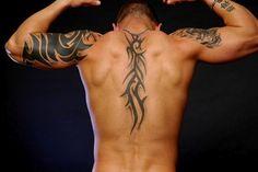 Cool Back Tattoos For Men