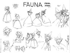 fauna sleeping beauty - Google Search