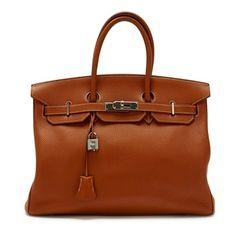 Hermes Birkin 35 Shoulder Bag
