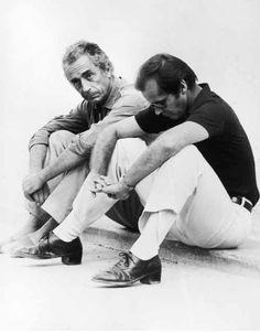 Michelangelo Antonioni & Jack Nicholson.