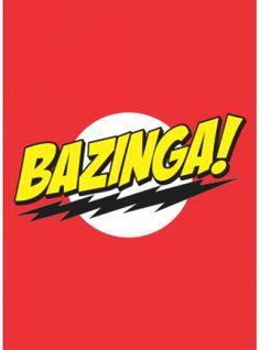Camiseta BAZINGA!